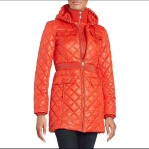 Kate spade quilted packable coat